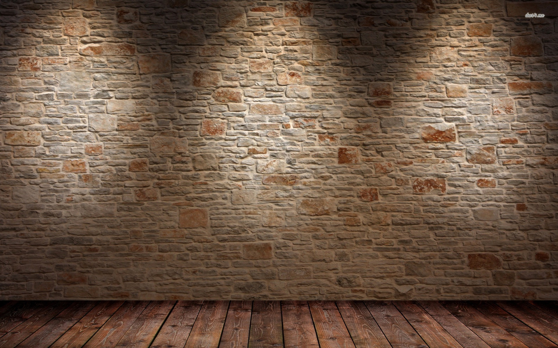 14567 brick wall and wood floor 1920 1200 abstract for Wallpaper for walls