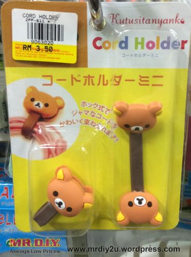 cable holder bear