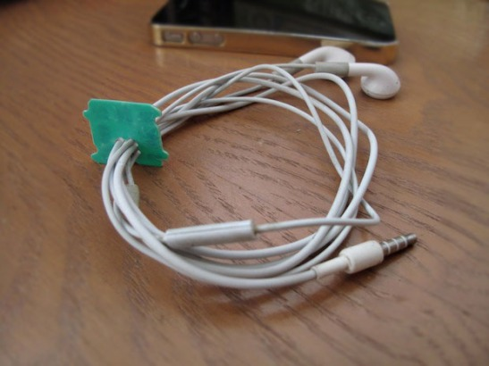 5. Headphone organiser