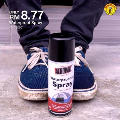 MR.DIY Malaysia Waterproof Spray