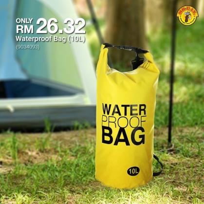MR.DIY Malaysia Waterproof Bag