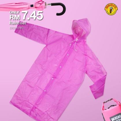 MR.DIY Malaysia Raincoat