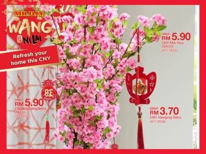 MR.DIY Malaysia CNY Decor Flower