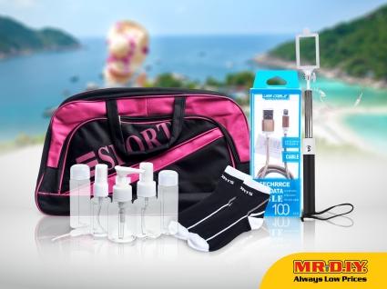 MR.DIY Malaysia Travel Bag