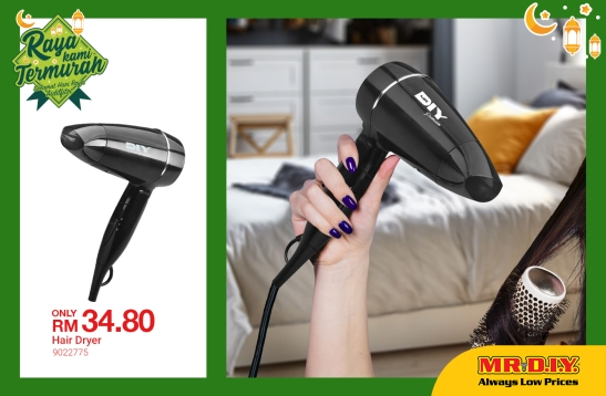 MR.DIY Malaysia Hair Dryer