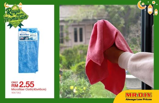 MR.DIY Microfiber Cloth Malaysia